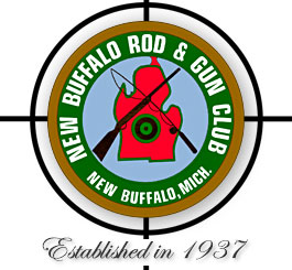 Logo, New Buffalo Rod & Gun Club, established 1937